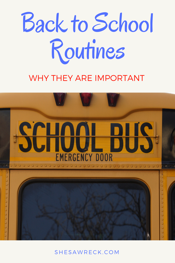 Prepare your kids for back to school with routines #backtoschool #backtoschoolroutines #backtoschoolprintable #backtoschoolfreebies #backtoschoolschedules #organizedbacktoschool #backtoschool2018