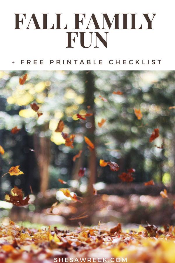 Have fun this fall with the ultimate fall favorites bucket list #fall #family #fallfun #fallactivites #kidsfallactivites #kidsfallfavorites #autumn #fall2018 #fallprintable #fallbucketlist #fallguide