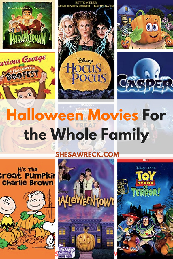 Not So Scary Halloween Movies for the whole family #halloween #family #fallfun #familymovies #halloweenmovies