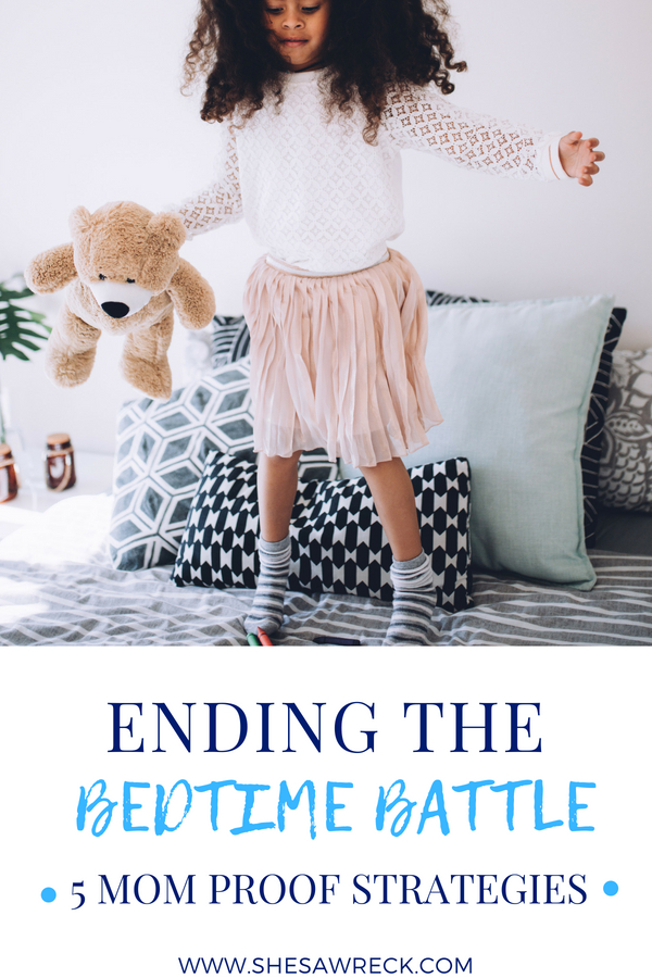 Kids Bedtime Tips & Strategies to help them get to sleep faster #bedtime #bedtimetips #kidsbedtimetips #bedtimeroutine #kidsleeping #sleepingtips | Shesawreck.com
