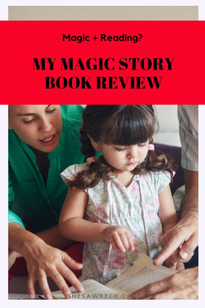 How to Make Bedtime Stories Fun with My Magic Story Book #kidsreading #bedtimestory #storybooks #booksforkids #mymagicstory
