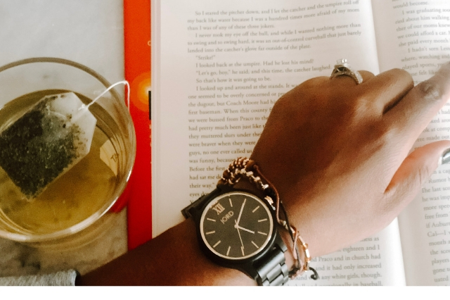 Make Time for Self-Care Ft. Jord Unique Watches