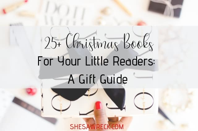 Christmas Books for your little readers #christmas #giftguide #booklist #booksforkids #holidaybooks