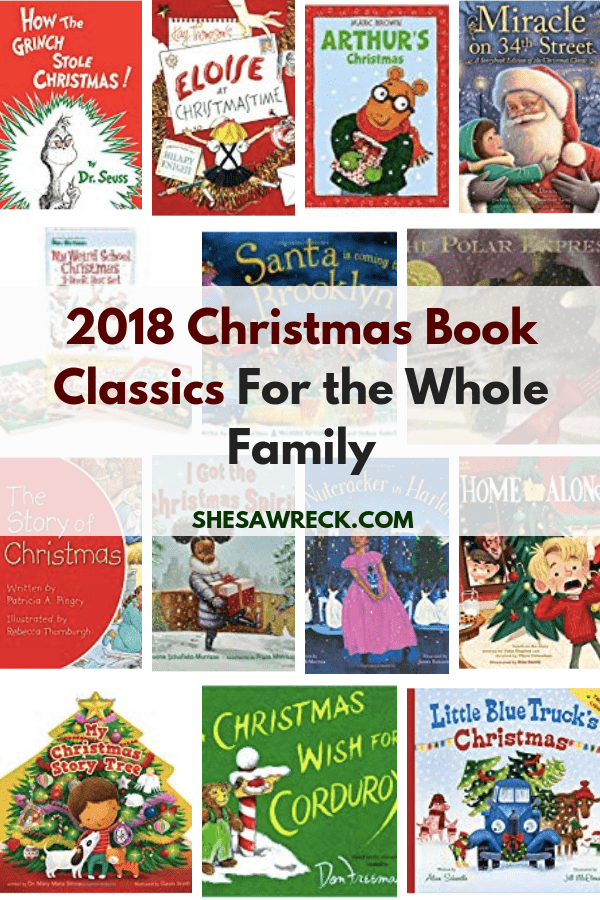Christmas Books Gift Guide for Kids #christmas #giftguide #gifts #holidays #booklist #books