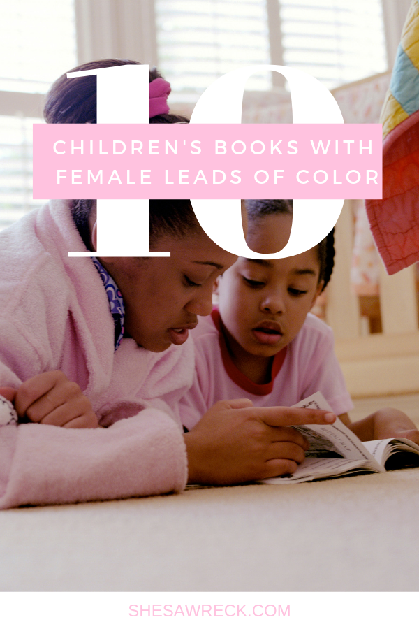 Children's Books Featuring Little Brown Girls #books #diversebooks #bookswithgirlleaders #booksofcolor #bookswithgirlleadds #booksfeaturinglittlebrowngirls