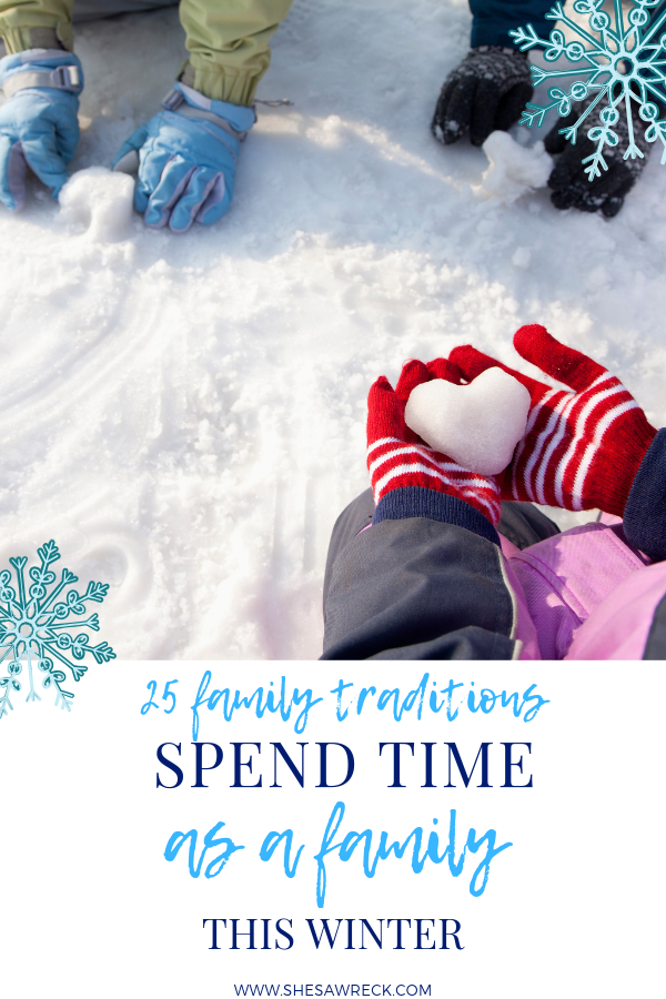 Winter Activities for the Family #winter #winteractivitiesforthefamily #winteractivitiesforkids #winterbucketlist #wintertraditions