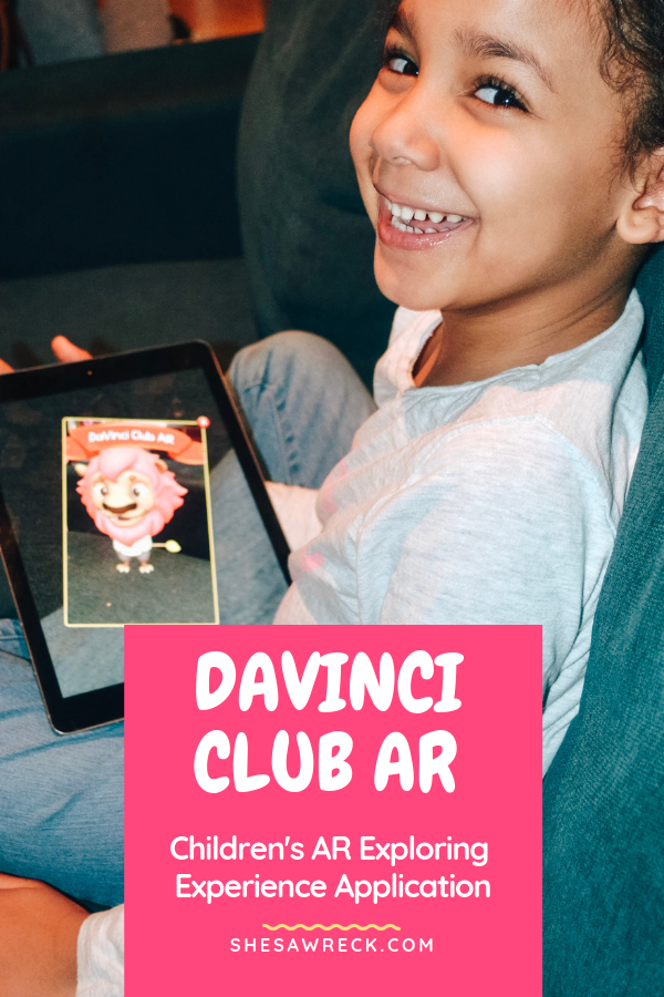 Keep Your Kids Active with Guilt-Free Screen Time #apps #appsforkids #kidstechnology #davinciclubar #ARforkids #guiltfree #screentime